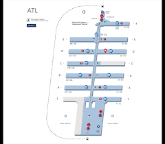 Atlanta Airport Floor Plan | your guide to the atlanta airport delta air lines
