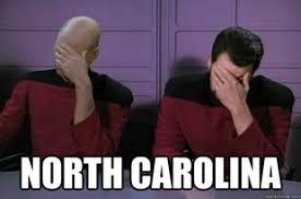 North Carolina Meme - the decline of north carolina in memes traveler at the edge
