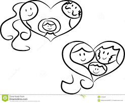 symbols of family stock vector illustration of 6756021