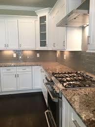 Subway Tiles Backsplash Kitchen Best 25 Gray Subway Tile Backsplash Ideas On Pinterest Grey