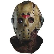 Jason Halloween Costumes Friday 13th Jason Voorhees Deluxe Huge Oversized Mask