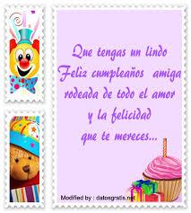 imagenes bonitas de cumpleaños para el facebook mensajes y cartas de cumpleaños para mi amiga tarjetas de