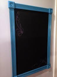 kitchen blue framed kitchen chalkboard picture kitchen