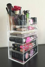 Makeup Vanity Storage Ideas Hair And Makeup Organizer Ikea Makeup Vanity Home Designing