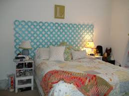 lattice headboard for the home pinterest bedrooms diy