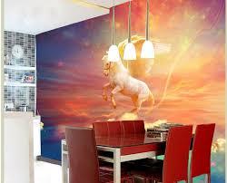 Wallpaper For Living Room Online Get Cheap Modern Horse Wallpaper Aliexpress Com Alibaba