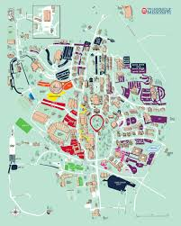 Map Of University Of New Orleans by Gameday Parking