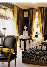 Mustard Colored Curtains Inspiration 19 Best Yellow U0026 Brown Living Room Images On Pinterest Living