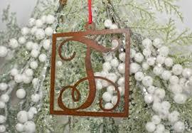 monogram ornaments craftcuts