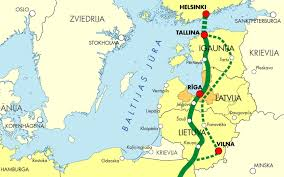 Baltic States Map Baltic States To Sign Rail Baltic Agreement On Jan 31 Business