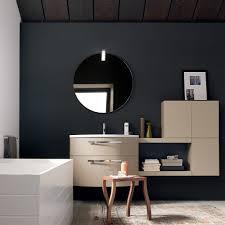 mensole laccate lucide bagno moderno sospeso chic