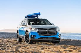 chevrolet traverse 2018 chevrolet traverse sup concept is for stand up paddleboarders