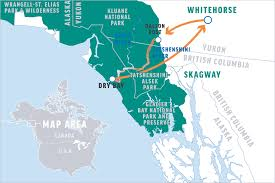 Skagway Alaska Map by Before You Go Tatshenshini River Rafting O A R S