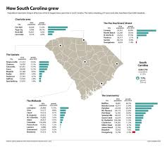 Greenville Sc Zip Code Map Populations Soar In Some South Carolina Towns But Many See No