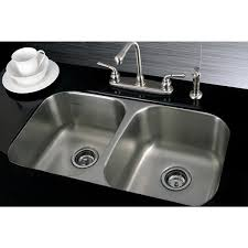 stainless steel double bowl undermount sink stainless steel 31 inch undermount double bowl 18 gauge kitchen sink
