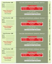 raffle ticket printing paper 15 free raffle ticket templates in microsoft word mail merge