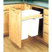 under sink trash pull out under sink trash can under counter trash can under cabinet trash