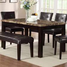 marble dining room set kitchen white marble table top dining table brown marble dining