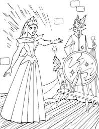 coloring sleeping beauty coloring pages 20