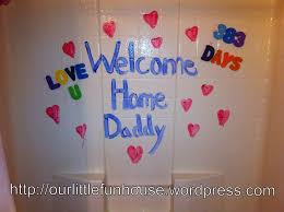 welcome home decorations welcome home daddy decorations for cupcakes lark blog decor