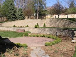 images about cms backyard designs patio wall with retaining back