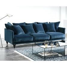 canape convertible bleu canape convertible velours en maison lavoine canapac 4 places