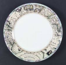 fitz floyd world maps at replacements ltd