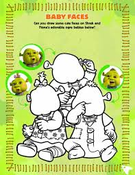 ogre baby faces coloring game games hellokids