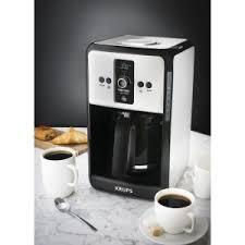 Krups Sandwich Toaster Krups Savoy 12 Cup Pause And Serve Coffee Maker Ec412050 The