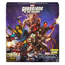 guardians of the galaxy marvel legends ee exclusive hasbro