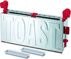 designer toaster trabo designer toasters the block and the toast