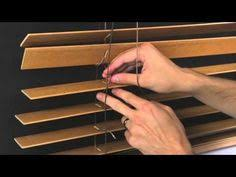 How To Take Down Blinds Shortening Horizontal Window Blinds Diy Tutorial Scissors And