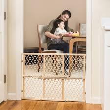 Child Proof Gates For Stairs Amazon Com Evenflo Safety Baby Gate Adjustable Wide And Tall