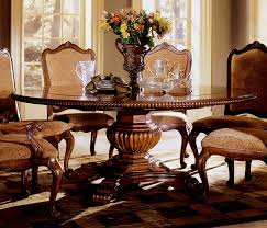 Exellent Round Formal Dining Room Tables The Furniture Curvy - Round dining room table sets