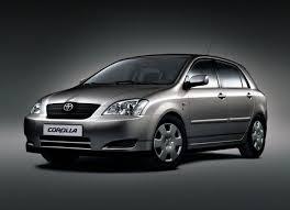toyota corolla gas consumption toyota corolla hatch e12 1 6 i 16v 110 hp technical