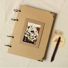 photo album scrapbook a4 blank diy photo album scrapbook paper crafts diy handmade cover