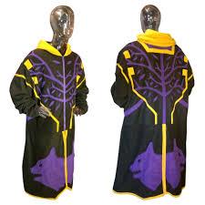finished simplified destiny warlock iron regalia vestments fleece