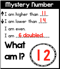 place value mystery number expanded form clipart 65