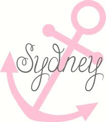 vinyl wall decal anchor with name nautical decal wall decal
