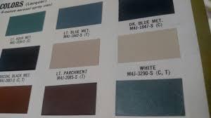 revised paint code resource list archive classicbroncos com forums