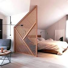 Studio Dividers Apartment Best Divider Ideas On Wall For Bedroom