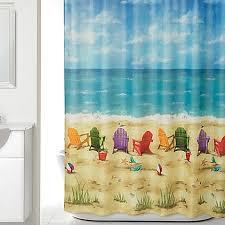 Bath And Beyond Shower Curtains Beach Scene Shower Curtain Bed Bath U0026 Beyond
