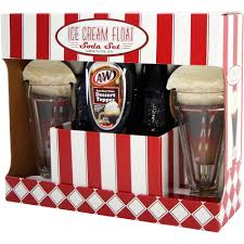 a u0026w root beer ice cream float soda holiday gift set 5 pc