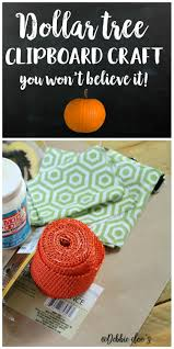 dollar tree clipboard craft clipboard crafts clipboards and