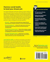 How To Update Your Resume For A Career Change Job Searching With Social Media For Dummies Joshua Waldman