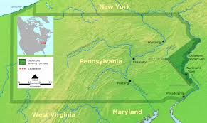 Pennsylvania Highway Map by Pennsylvania Maps And Reference