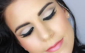 60er cat eye makeup tutorial youtube