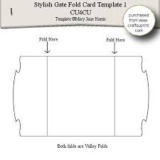 28 images of two fold card template infovia net