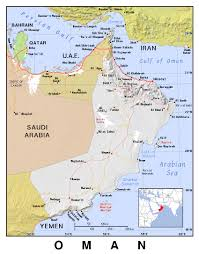 Map Of Al Maps Of Oman Detailed Map Of Oman In English Tourist Map Of