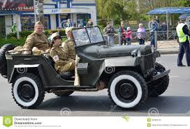 gaz 67 kaliningrad russia may 09 2015 the car gaz 67 editorial